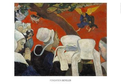 Paul Gauguin La vision du sermon