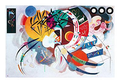 Wassily Kandinsky Courbe dominante 1936