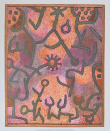 Paul Klee Flora am Felsen, 1940
