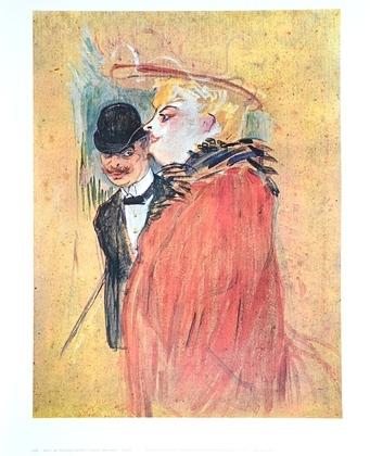 Henri Toulouse-Lautrec Paar