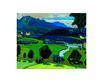 Kandinsky wassily murnau blick ueber den staffelsee sommer 1908 l