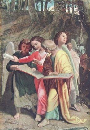 Joseph von Fuehrich Engelgruppe