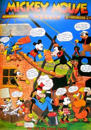 Disney walt mickey mouse weekly large