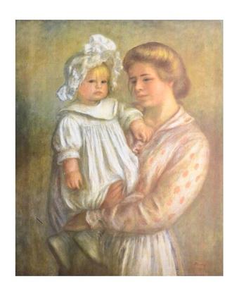 Auguste Renoir Claude and Renee
