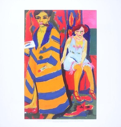 Ernst Ludwig Kirchner Selbstbildnis mit Modell
