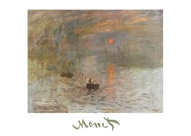 Claude Monet Sonnenaufgang