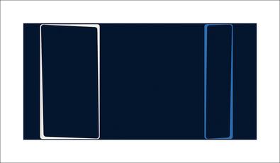 Carl Abbott Untitled (Blau), 2013