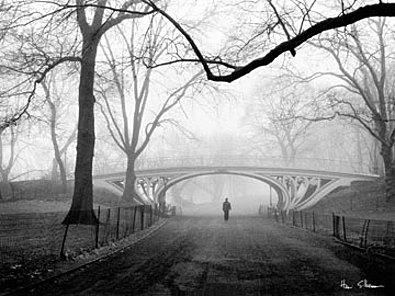 Henri Silberman Gothic Bridge Central Park NYC