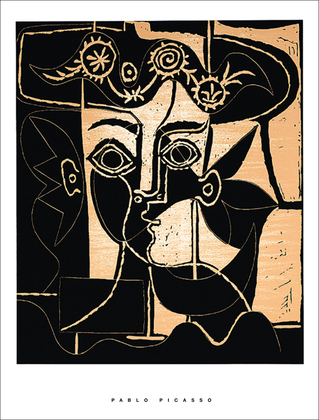 Pablo Picasso Frau mit Hut I