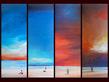 M. Bineton 4er Set 'Endless Skies I - IV'