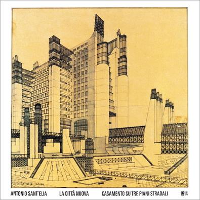 Antonio Sant' Elia Die neue Stadt, 1914