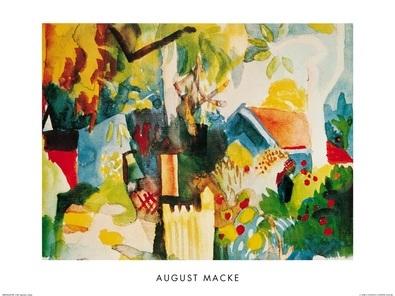 August Macke Landschaft