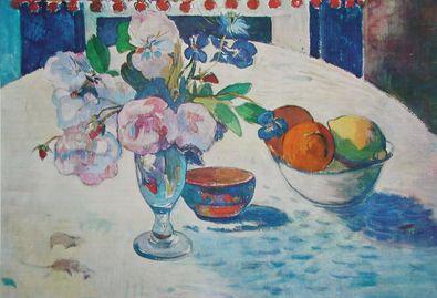 Paul Gauguin Blumen und Fruechte