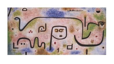 Paul Klee Insula Dulcamara, 1938