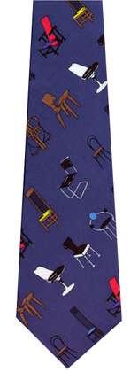 Adrian Olabuenaga Chairs Blue (Krawatte)