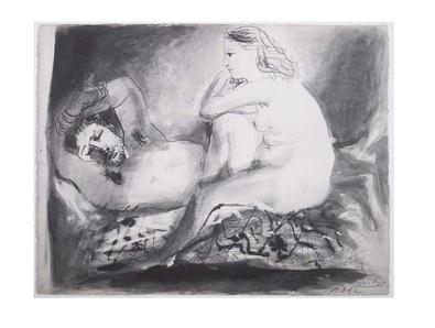 Pablo Picasso Schlafender
