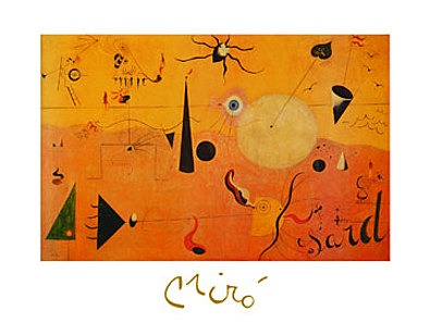 Joan Miro Paysage Catalan
