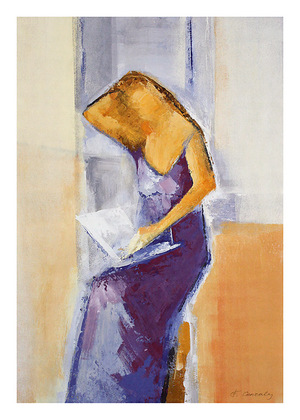 Francoise Conzales 2er Set 'A Letter from You' + 'Looking Out the Window'