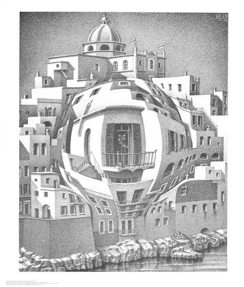 MC Escher Balkon