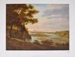 Carl Josef Cogels Blick auf Muenchen von Sueden mit Isarbett, 1822
