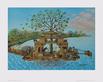 Erna Voigt Arche mit Vogelbaum