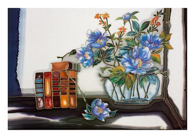Annemarie Loew Stilleben mit Blumen (gross)