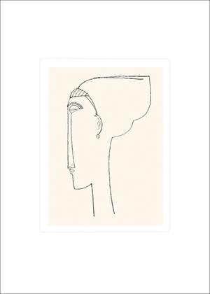 Amedeo Modigliani Tete de profil, 1911