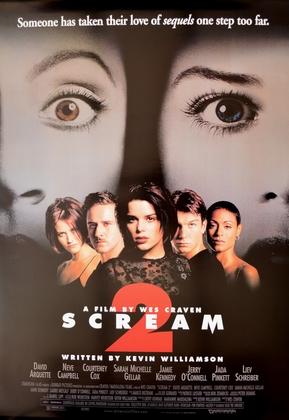 Kinoplakat Scream 2