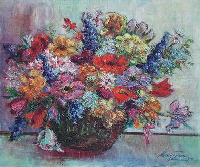 Mossig-Zupan Bunter Blumenstrauss