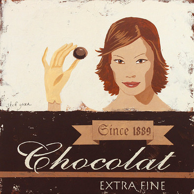 Steff Green 4er Set 'Chocolat Extra Fine' + 'Bittersweet Chocolat' + 'Chocolat Noir' + 'Chocolat au Lait'