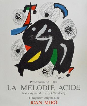 Joan Miro La Melodie Acide