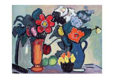 Gabriele Muenter Blumen in der Nacht, 1941