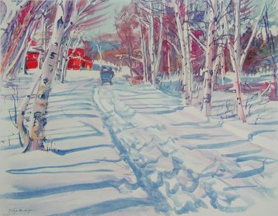 MacNight Winterlandschaft