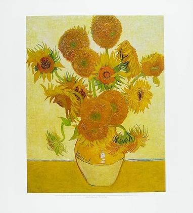 Vincent van Gogh Vierzehn Sonnenblumen in einer Vase