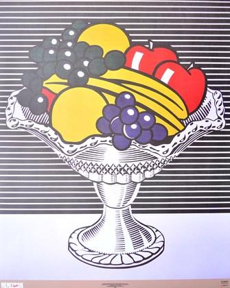 Roy Lichtenstein Stillleben mit Kristallschale