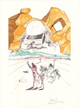 Salvador Dali Retrospective: The path of wisdom (Drawer)