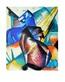 Marc franz zwei pferde rot und blau 1912 medium