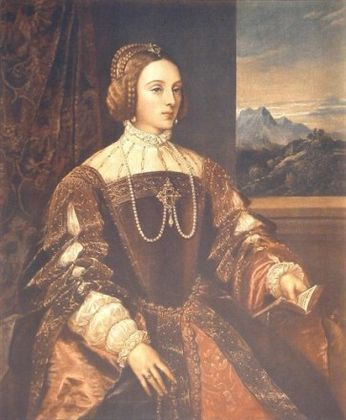Tizian Isabella von Portugal