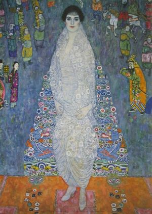 Gustav Klimt Portrait Elisabeth Bachofen Echt (ca 1914)
