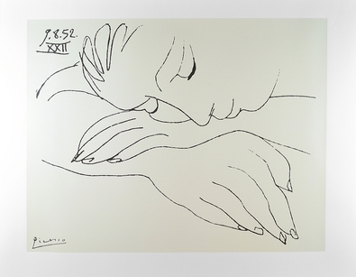 Pablo Picasso War and Peace