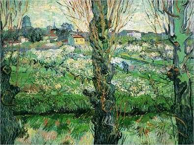 Vincent van Gogh Blick auf Arles