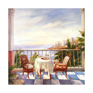 Alexa Kelemen 3er Set 'Terrace View I-III'