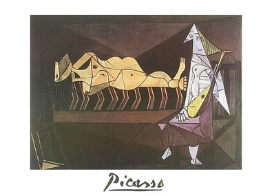 Pablo Picasso Das Morgenstaendchen