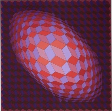 Victor Vasarely Andromeda
