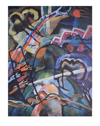 Wassily Kandinsky Composition storm