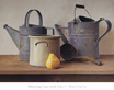 Peter Colvin Watering Cans with Pear I