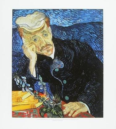 Vincent van Gogh Bildnis Doktor Gachet
