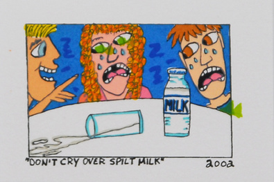 James Rizzi Dont Cry Over Spilt Milk