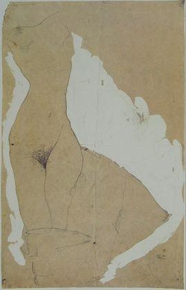 Egon Schiele Weiblicher Torso   1911