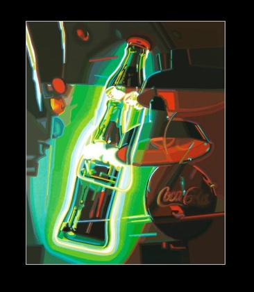 Werner Opitz Neon Coke
